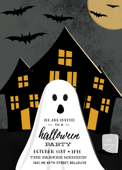 digital invitations - Spooky Night by Anupama