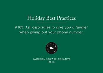 Holiday Best Practices