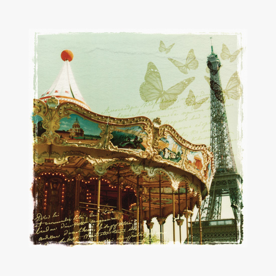 art prints - Remembering Paris by Ana Maria Villanueva