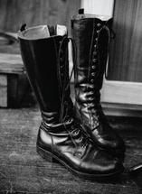 Big Black Boots by Erika Tracy