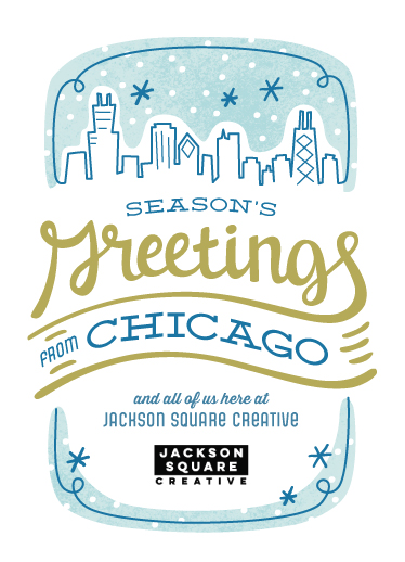 business holiday cards - Greetings From by Laura Hankins