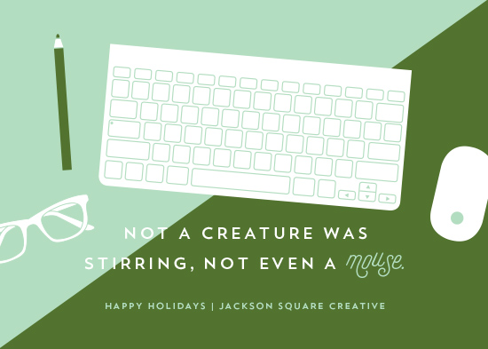 business holiday cards - Tools of the Trade by Cheer Up Press