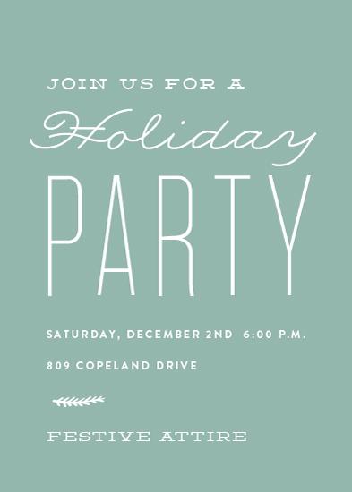 digital invitations - fine time by Sara Hicks Malone