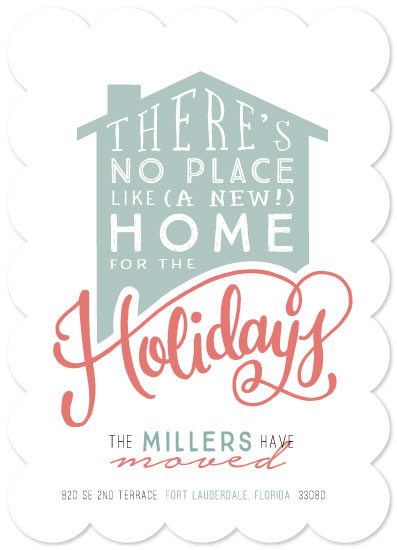 non-photo holiday cards - No Place Like Home by Makewells