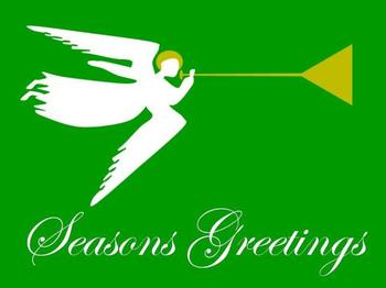 Trumpeting Seasons Greetings