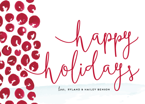 non-photo holiday cards - Berry Happy by Kaydi Bishop