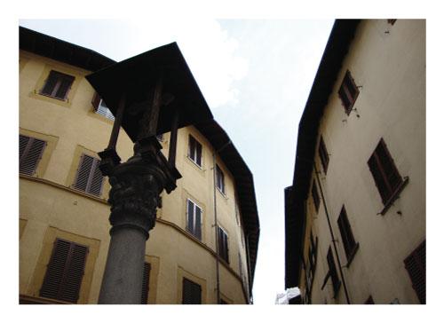 art prints - Buildings Diverge by Amelia Lepak
