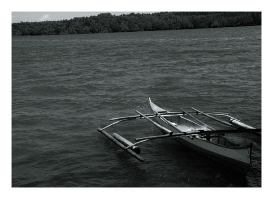 art prints - Local Canoe Boat by John Wynn