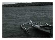 Local Canoe Boat by John Wynn