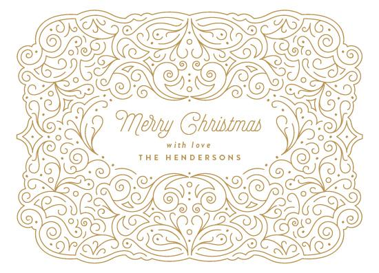 non-photo holiday cards - Shiny Holidays by Phrosne Ras