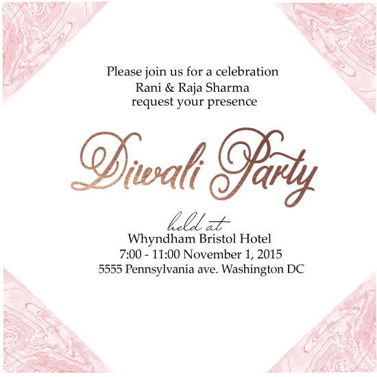 digital invitations - Hello Diwali by Neeta Sawhney