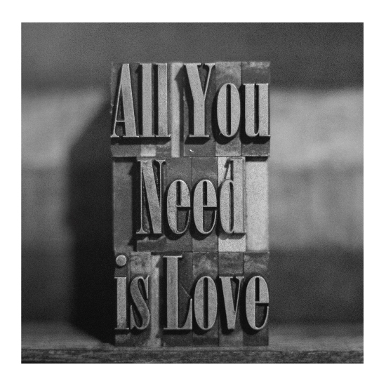 art prints - All You Need is Love by Bryan Fowler
