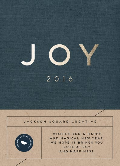 business holiday cards - Big joy by iamtanya