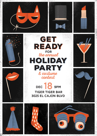 digital invitations - Office Holiday Party by Maria M. Keeler