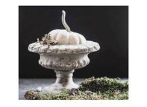 White Pumpkin in Urn by Nancy Jeanne Morlino