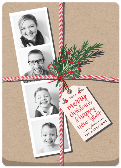 holiday photo cards - The Gift by Elly