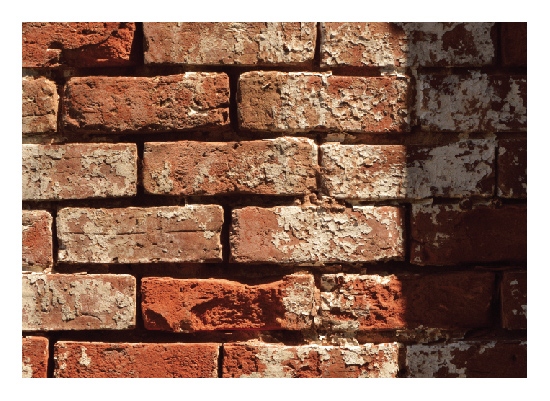 art prints - Shadowed Brick by Erin Jones Turner