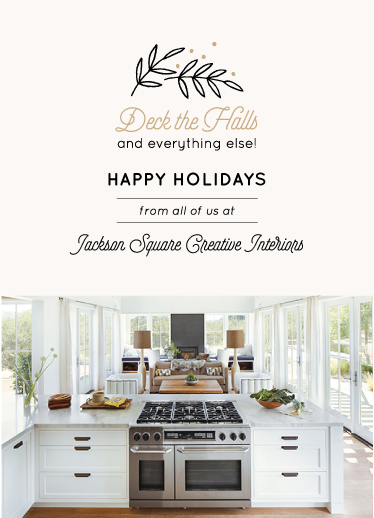 business holiday cards - Deck the Interiors by kbecca
