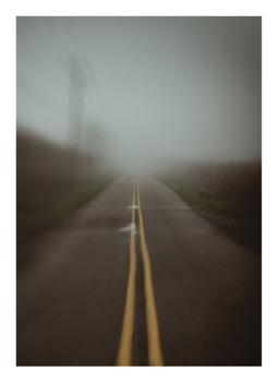 Foggy Abstract Road