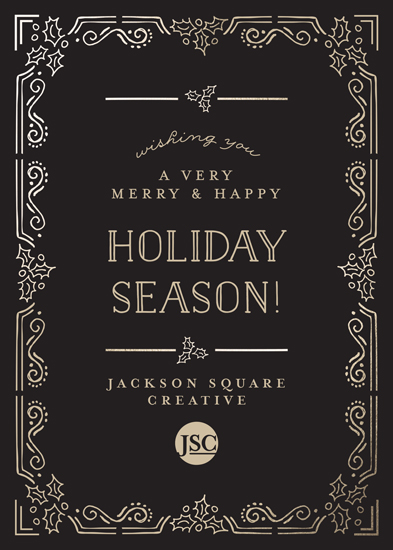 business holiday cards - Corporate Elegance by Chris Griffith