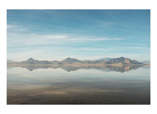 art prints - The Salt Flat Soundwave by Megan Tsang