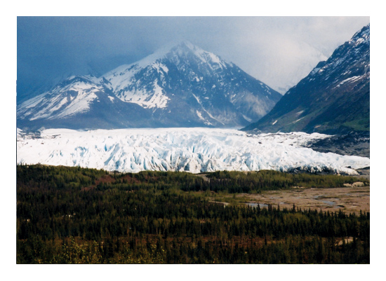 art prints - Glacial by MJ Phelps