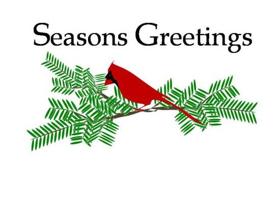 business holiday cards - Seasons Greetings of the Season by Up The Creek Press