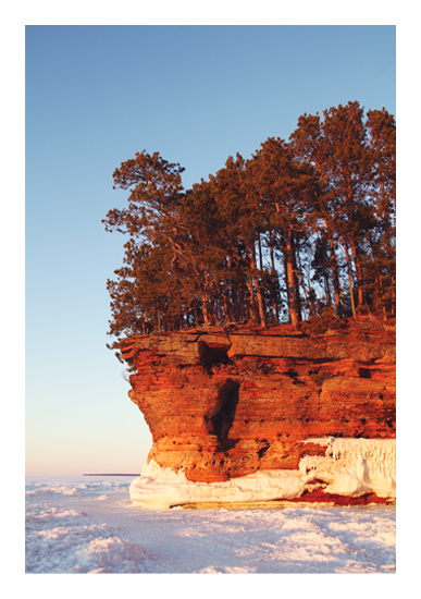 art prints - Icy Golden Hour by Images of Light
