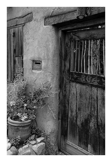 art prints - Stick door, Santa Fe by LeeAnne Mallonee