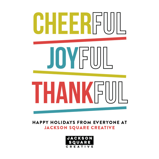 business holiday cards - Full of Thanks by Juliet Meeks