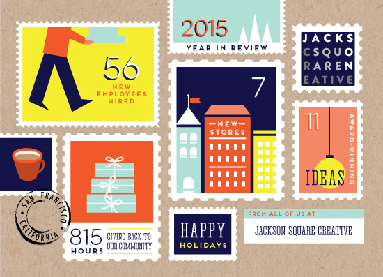 business holiday cards - Signed Sealed Delivered by Frooted Design