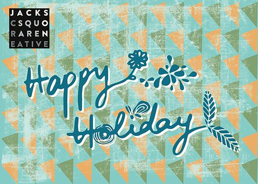 business holiday cards - Fresh Holidays by Anita Tsai