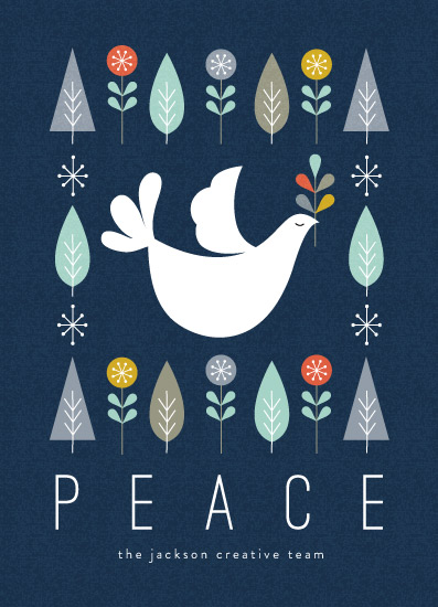 business holiday cards - Mod Dove by Coco and Ellie Design