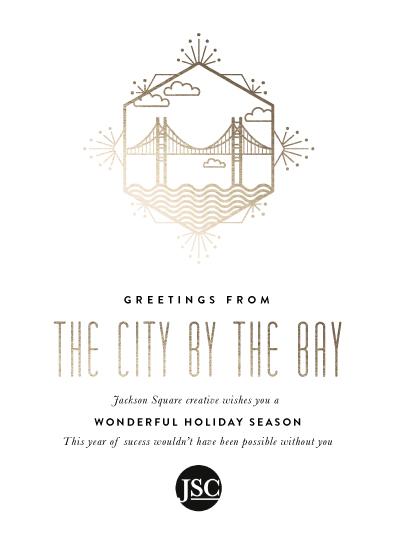 business holiday cards - nickname  city by Aspacia Kusulas