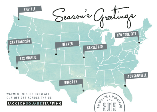 business holiday cards - Location Location by Hooray Creative