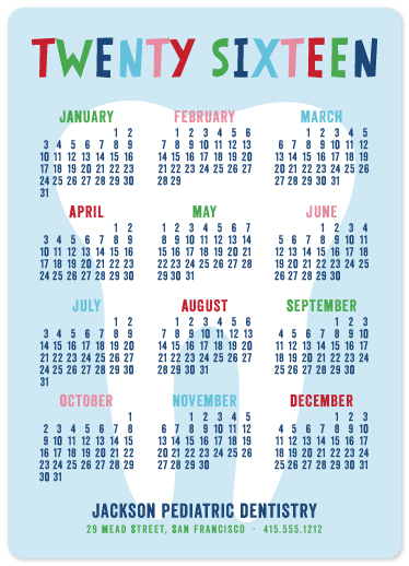 Business holiday cards dentist calendar greetings at minted business holiday cards dentist calendar greetings by melissa casey m4hsunfo