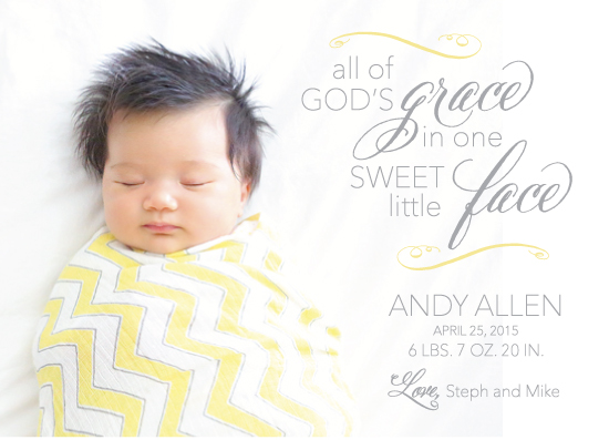 digital invitations - God's Grace by Amanda Kay