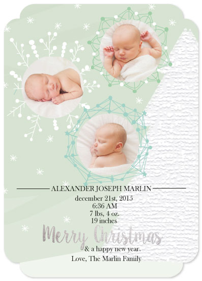 holiday photo cards - Best Blessing of All, Like Unique Snowflakes that Fall by Ilidia Nicholas