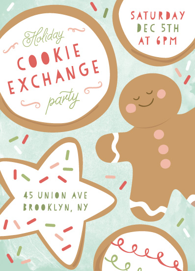 digital invitations - cookie catch by peetie design