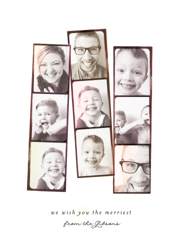 holiday photo cards - Photo Booth Filter by Olivia Kanaley