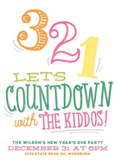 digital invitations - Kid's Countdown by Jessie Steury