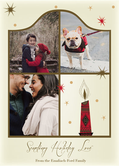 holiday photo cards - Through The Windo by Amy Pierrson