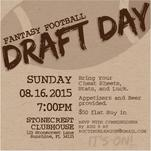 It's On Draft Invite by frances barra