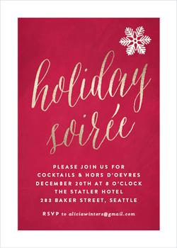 Chic Holiday Soiree