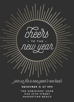 New Year Burst
