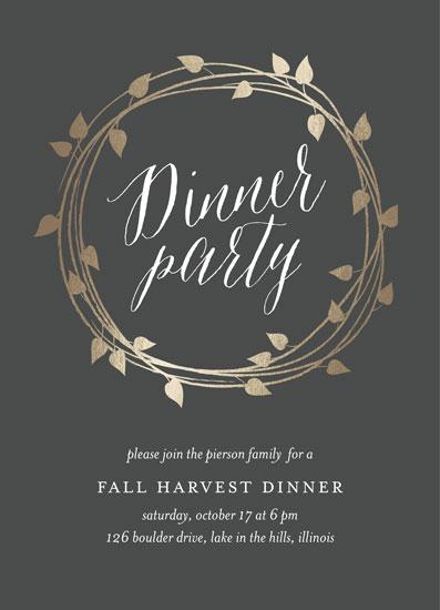 digital invitations - Fall Harvest by Erin Deegan