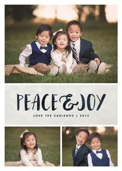 Brushed Peace & Joy