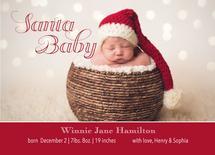 Santa Baby Birth Announ... by Madison Jai Smith