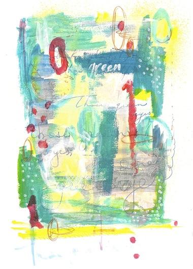 art prints - Green Eyes by Olivia Steward