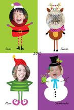Funky Christmas Family by A Tina Beans